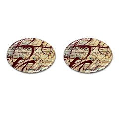 ABSTRACT 2 Cufflinks (Oval)