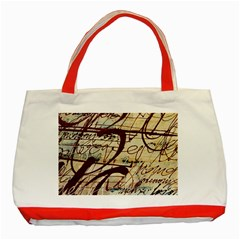 ABSTRACT 2 Classic Tote Bag (Red)