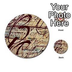Abstract 2 Multi Purpose Cards (round)