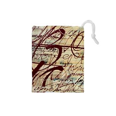 ABSTRACT 2 Drawstring Pouches (Small)