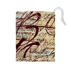 ABSTRACT 2 Drawstring Pouches (Large)