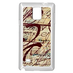 ABSTRACT 2 Samsung Galaxy Note 4 Case (White)