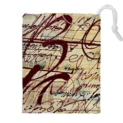 ABSTRACT 2 Drawstring Pouches (XXL)