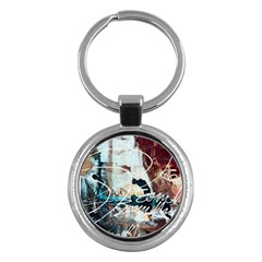 Abstract 1 Key Chains (round)