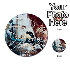 Abstract 1 Multi Purpose Cards (round)