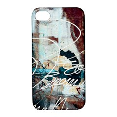 Abstract 1 Apple Iphone 4/4s Hardshell Case With Stand