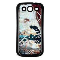 ABSTRACT 1 Samsung Galaxy S3 Back Case (Black)