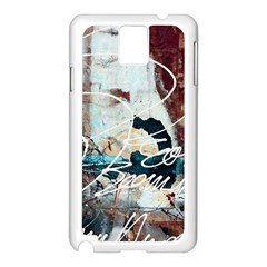 ABSTRACT 1 Samsung Galaxy Note 3 N9005 Case (White)