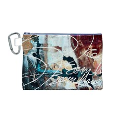 ABSTRACT 1 Canvas Cosmetic Bag (M)