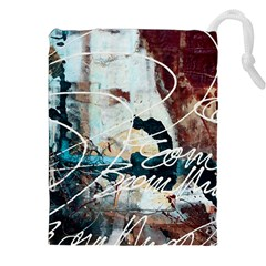 Abstract 1 Drawstring Pouches (xxl)