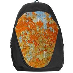 YELLOW RUSTY METAL Backpack Bag