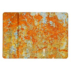 YELLOW RUSTY METAL Samsung Galaxy Tab 10.1  P7500 Flip Case