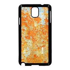 YELLOW RUSTY METAL Samsung Galaxy Note 3 Neo Hardshell Case (Black)