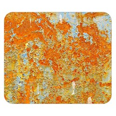 YELLOW RUSTY METAL Double Sided Flano Blanket (Small)