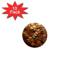 US COINS 1  Mini Magnet (10 pack)