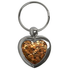 US COINS Key Chains (Heart)