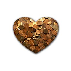 US COINS Heart Coaster (4 pack)