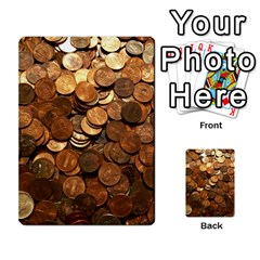 Us Coins Multi Purpose Cards (rectangle)
