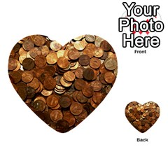 Us Coins Multi Purpose Cards (heart)