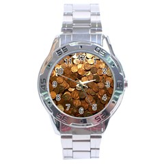 US COINS Stainless Steel Men s Watch