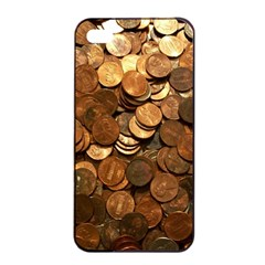 US COINS Apple iPhone 4/4s Seamless Case (Black)