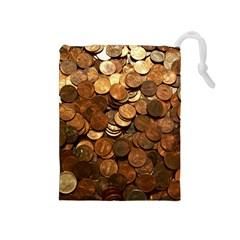 US COINS Drawstring Pouches (Medium)