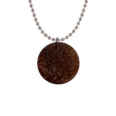 RUSTY METAL PATTERN Button Necklaces