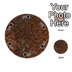Rusty Metal Pattern Playing Cards 54 (round)