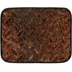 RUSTY METAL PATTERN Double Sided Fleece Blanket (Mini)