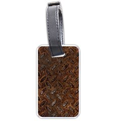 RUSTY METAL PATTERN Luggage Tags (Two Sides)