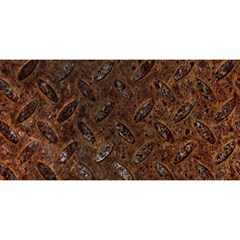 Rusty Metal Pattern You Are Invited 3d Greeting Card (8x4)