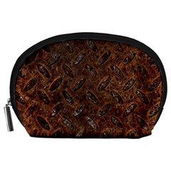 RUSTY METAL PATTERN Accessory Pouches (Large)