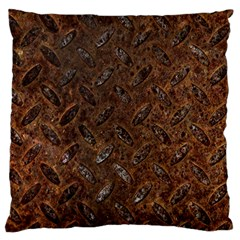 RUSTY METAL PATTERN Standard Flano Cushion Cases (Two Sides)