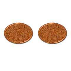 RUSTED METAL Cufflinks (Oval)
