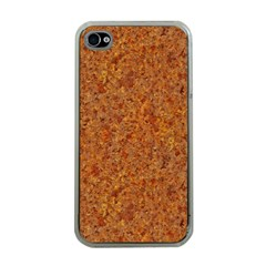 RUSTED METAL Apple iPhone 4 Case (Clear)