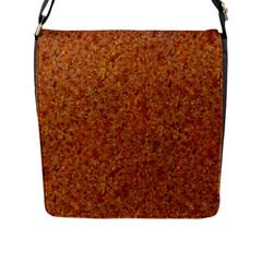 RUSTED METAL Flap Messenger Bag (L)