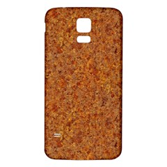 RUSTED METAL Samsung Galaxy S5 Back Case (White)