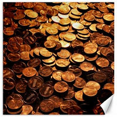 PENNIES Canvas 20  x 20