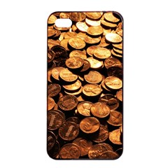 PENNIES Apple iPhone 4/4s Seamless Case (Black)