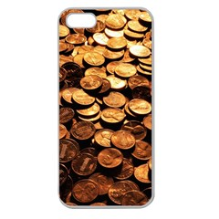 PENNIES Apple Seamless iPhone 5 Case (Clear)