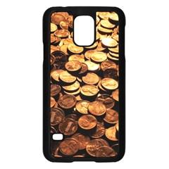 PENNIES Samsung Galaxy S5 Case (Black)