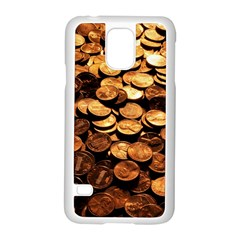 PENNIES Samsung Galaxy S5 Case (White)
