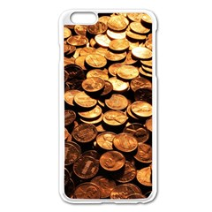 PENNIES Apple iPhone 6 Plus/6S Plus Enamel White Case