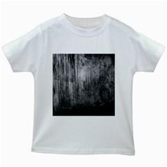 GRUNGE METAL NIGHT Kids White T-Shirts