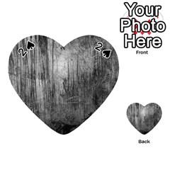 Grunge Metal Night Playing Cards 54 (heart)