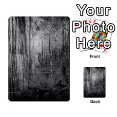 GRUNGE METAL NIGHT Multi-purpose Cards (Rectangle)