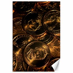 GOLD COINS 2 Canvas 20  x 30
