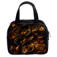 GOLD COINS 2 Classic Handbags (2 Sides)