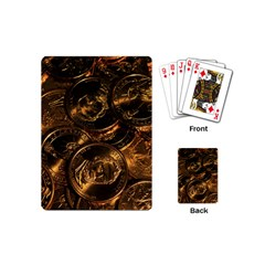 GOLD COINS 2 Playing Cards (Mini)