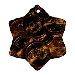 GOLD COINS 2 Ornament (Snowflake)